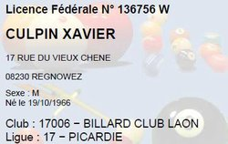 Xavier CULPIN