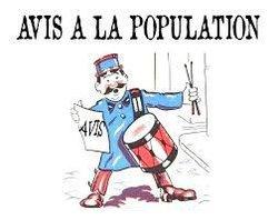 AVIS A LA POPULATION - RECHERCHE BENEVOLES