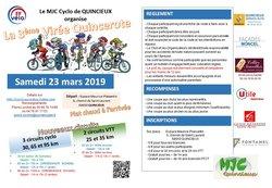 3ème Virée Quincerote - Samedi 23 mars 2019