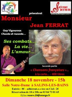 Concert pour l'Arc en Ciel: Monsieur Ferrat