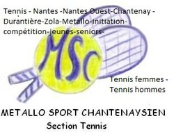 Métallo sport chantenaysien section tennis