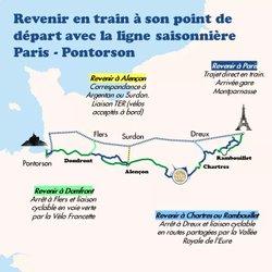 Pontorson- Paris