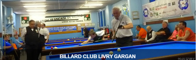 ABC LIVRY-GARGAN : site officiel du club de billard de LIVRY GARGAN - clubeo