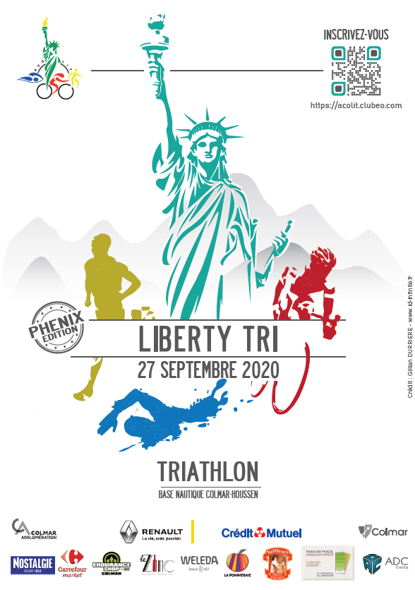 Liberty Tri 2020 - Affiche