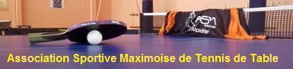 Association Sportive Maximoise de Tennis de Table : site officiel du club de tennis de table de STE MAXIME - clubeo