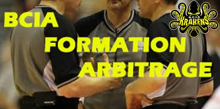 BCIA FORMATION ARBITRE BASKET