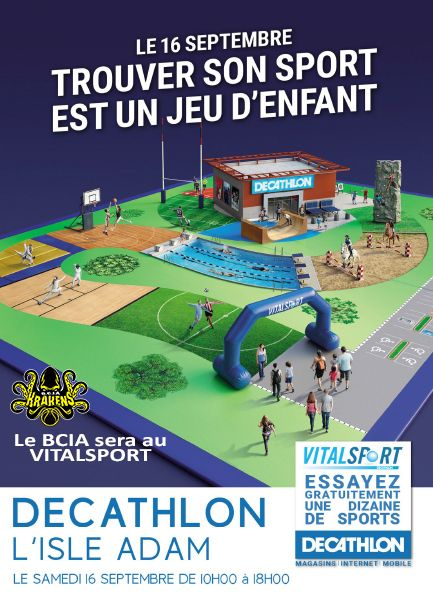 BASKET CLUB ISLE ADAM BCIA VITALSPOT DECATHLON