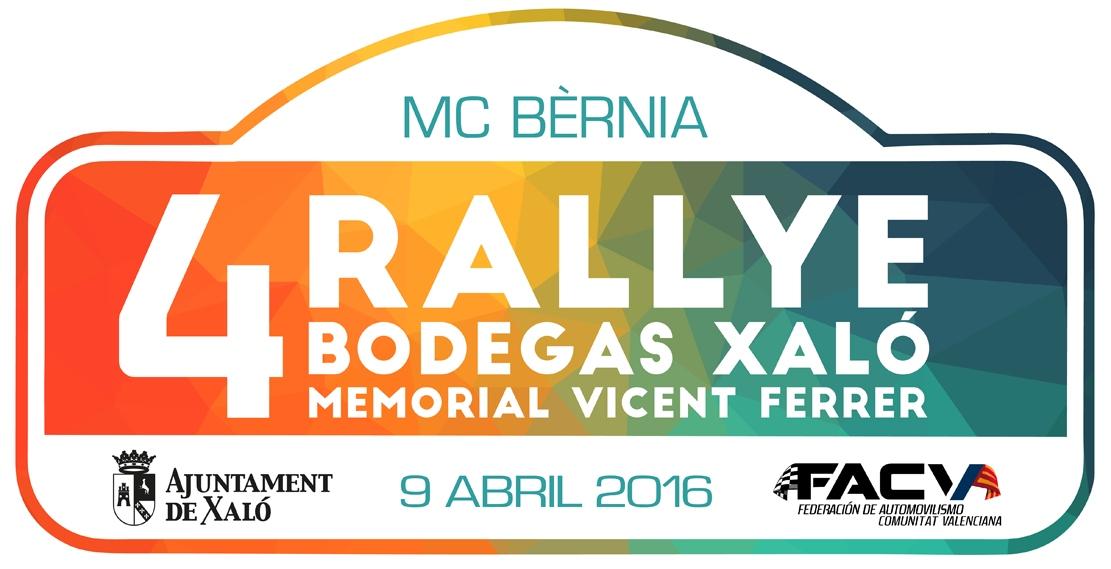 IV Rallye Bodegas Xaló, Memorial Vicente Ferrer