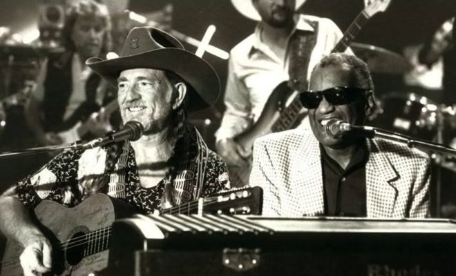 Willie Nelson, Ray Charles - Seven Spanish Angels