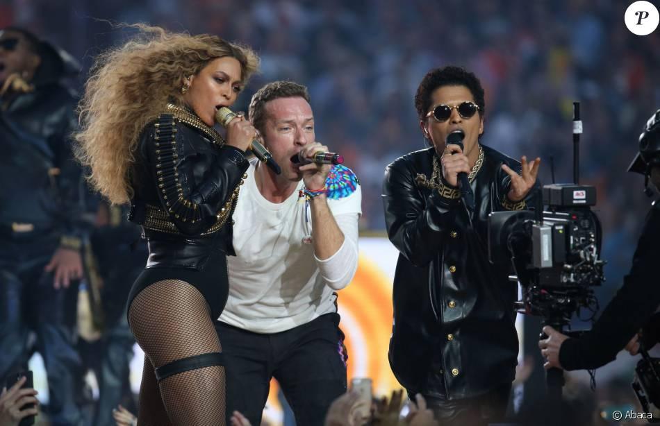 Beyoncé et Bruno Mars