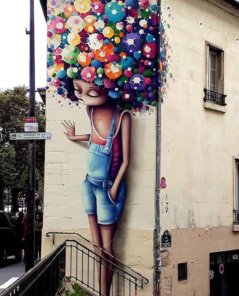 Street art de Vinnie Graffiti