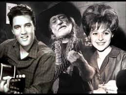 Brenda Lee-Elvis Presley-Willie Nelson