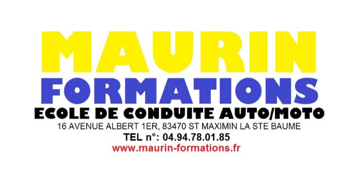 Auto-école Maurin Formations - club Tennis de table Club de Tennis de Table  de St Maximin la Ste Baume - Clubeo 1a1cfa87a0f3