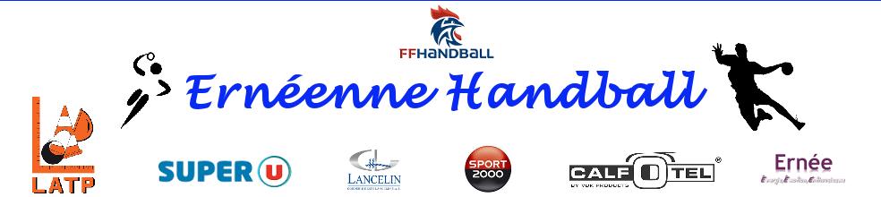 Ernéenne Sport handball : site officiel du club de handball de Ernée - clubeo