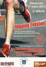 jogging évasion 2013