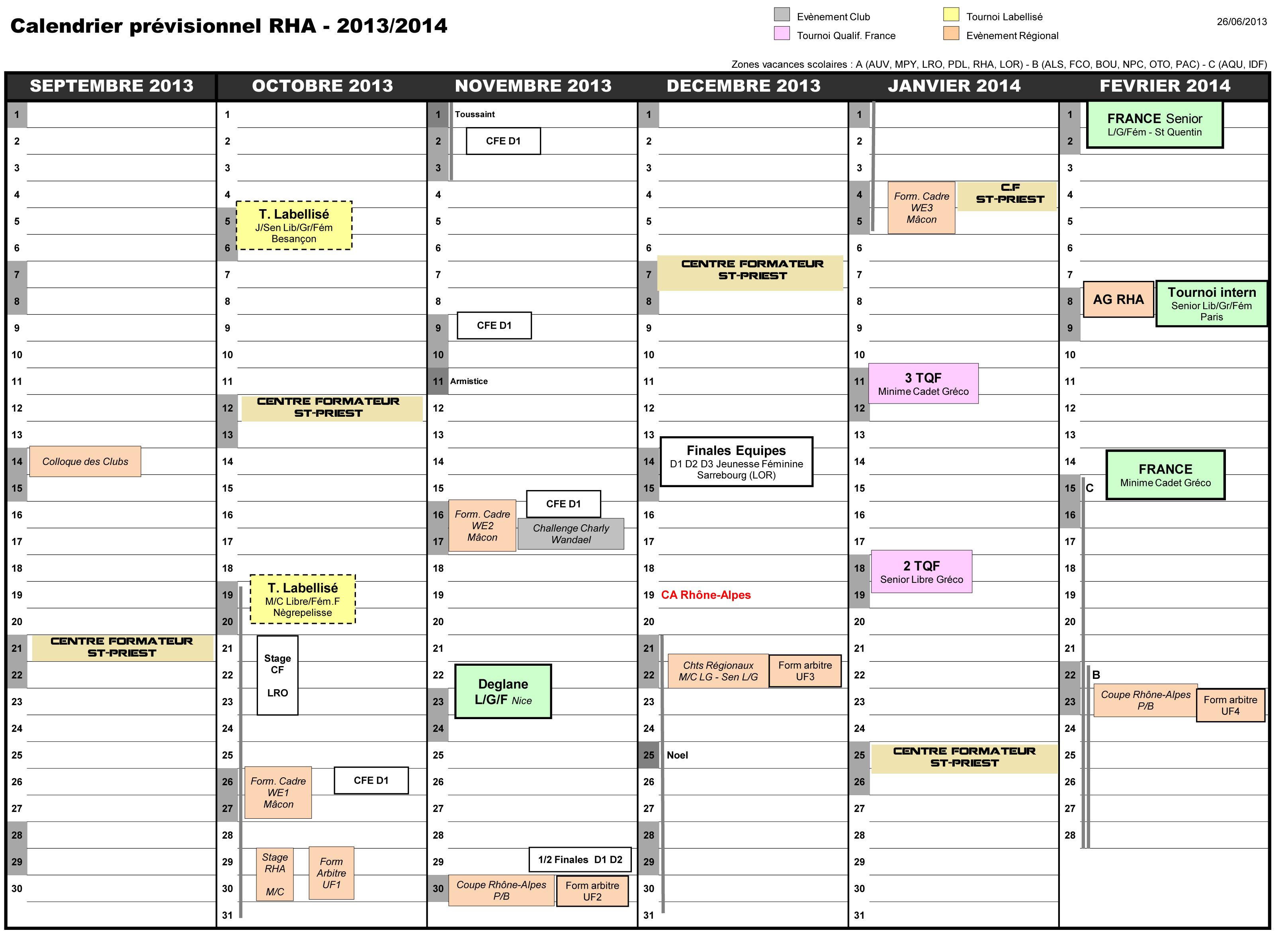 Calendrier RHA 2013-14 1