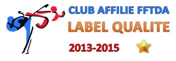 Labellisation 1 étoile - 2013-2015