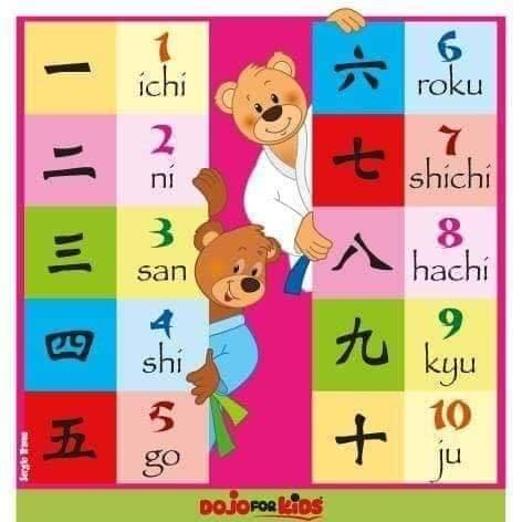 Apprendre à compter en japonais