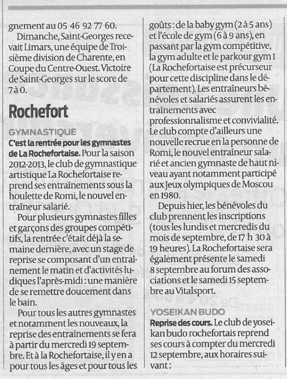 Sud-Ouest 06-09-2012