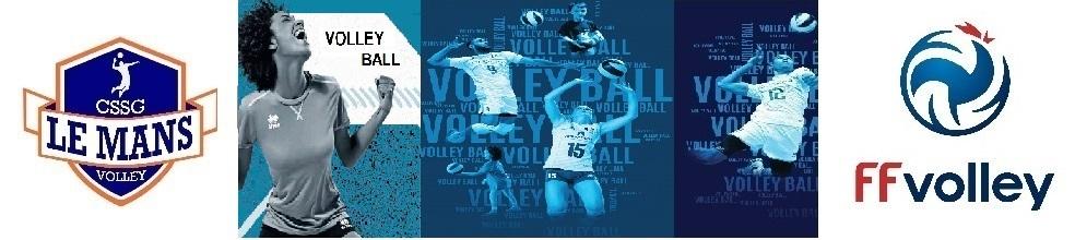CSSG LE MANS VOLLEY-BALL : site officiel du club de volley-ball de Le Mans - clubeo