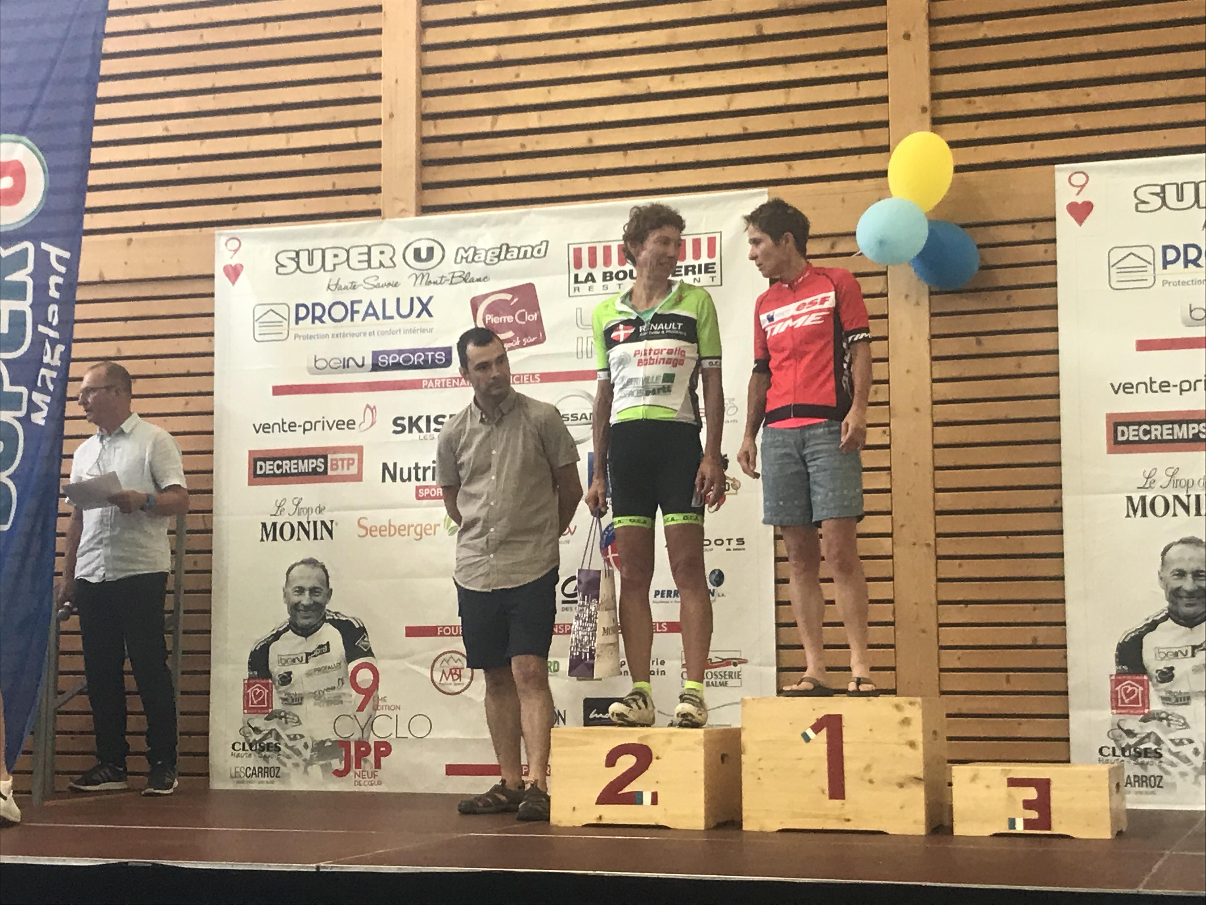 podium de Claude Mirale