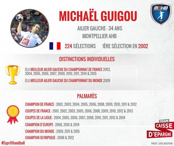 Palmarès Michael GUIGOU
