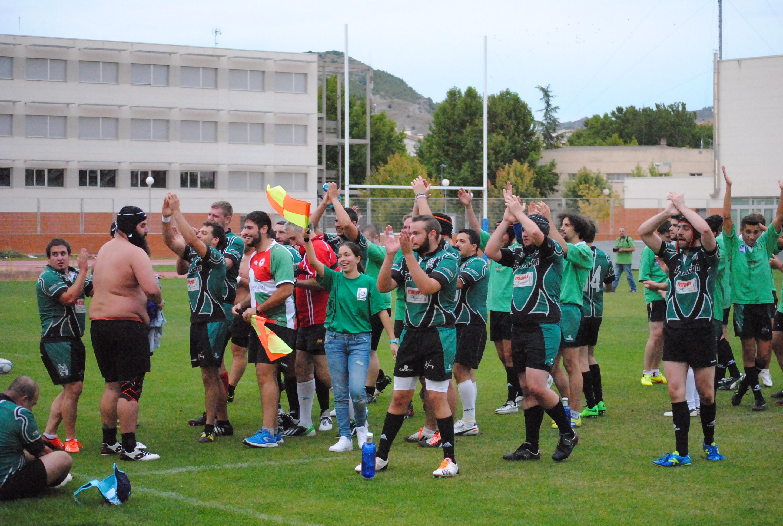 Partido amistoso entre jugadores del A Palos a principios de la temporada 2015/16 - Fotografía Mario Gómez (@Mario_Gomez13)
