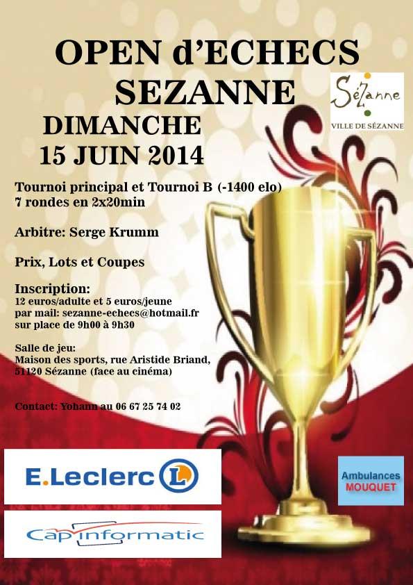 Open Sezanne 2014