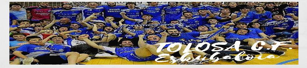 Tolosa CF Eskubaloia : sitio oficial del club de balonmano de Tolosa - clubeo
