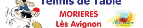 Tennis de Table de MORIERES : site officiel du club de tennis de table de MORIERES LES AVIGNONS - clubeo