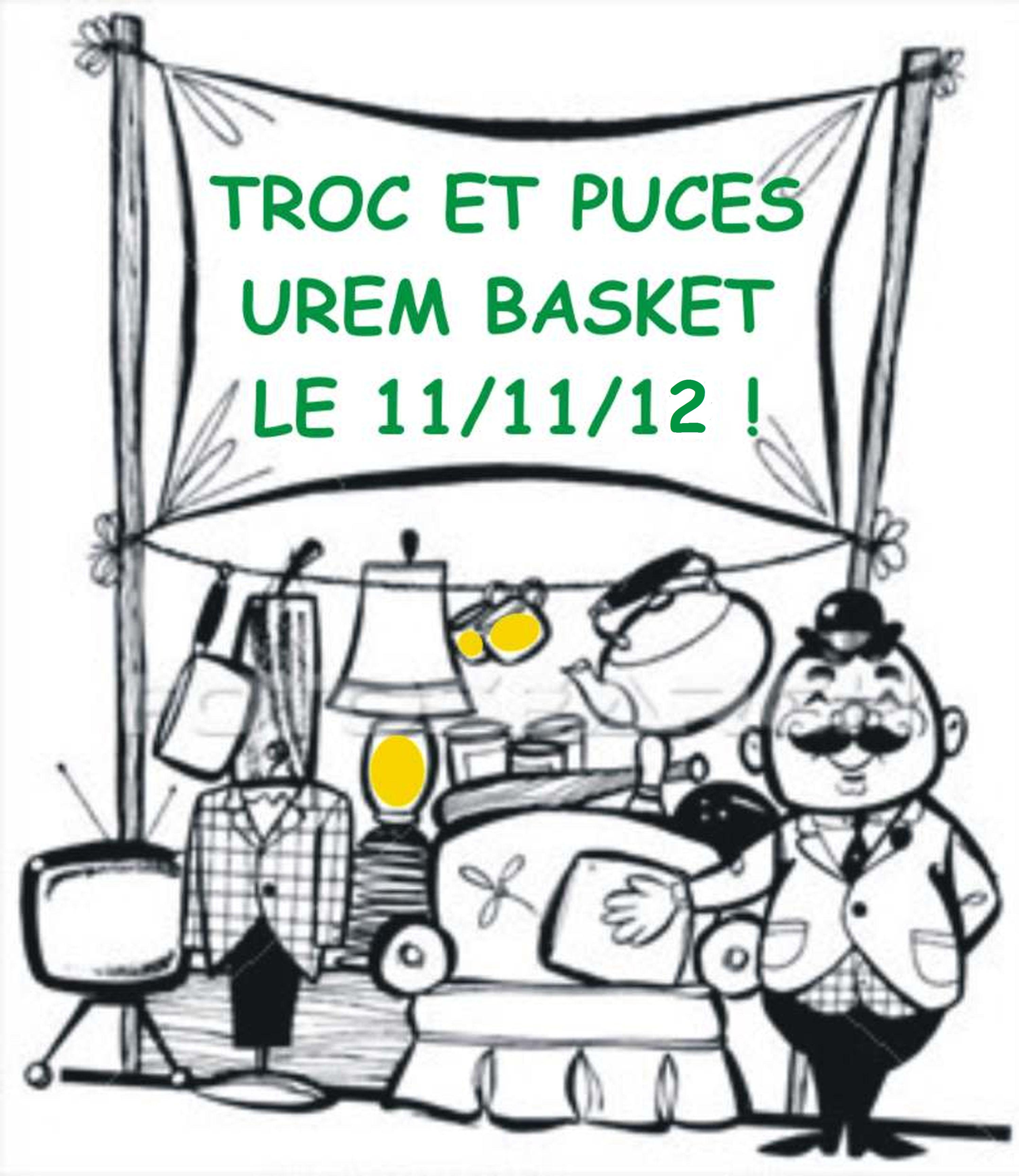 Troc et puces 11 novembre 2012