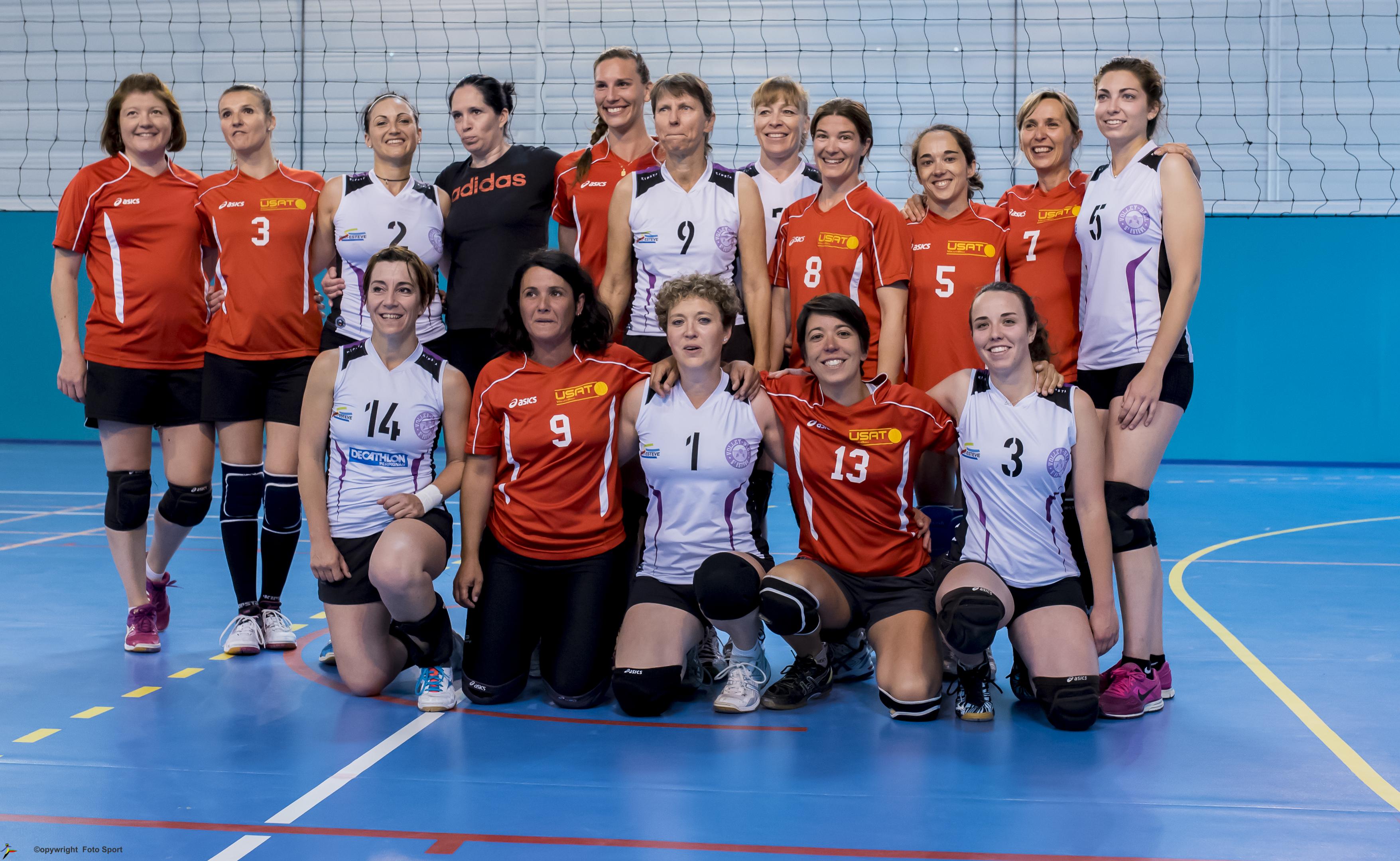 Match féminines coupe du Roussillon USAT/St Estève