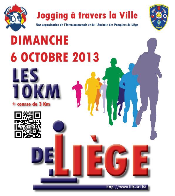 Jogging Liège - Affiche